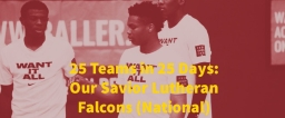 25 Teams in 25 Days: Our Savior Falcons (National)