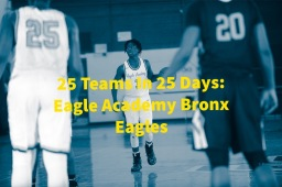 25 Teams In 25 Days: Eagle ACademy (Bronx) Eagles