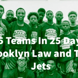 25 Teams In 25 Days: Brooklyn Law And Tech Jets