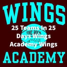 25 Teams In 25 Days: Wings Academy Wings