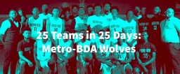 25 Teams In 25 Days: Metro-BDA Wolves